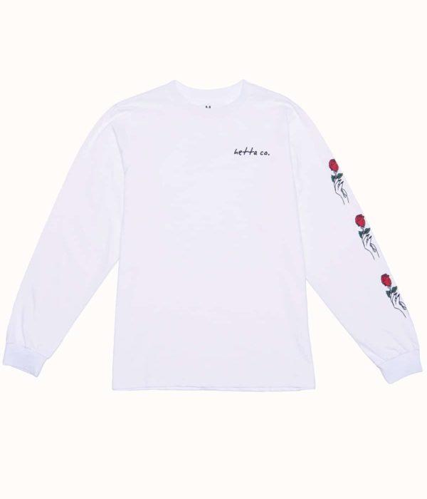 Лонгслив женский Hetta Roses